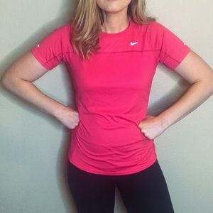 Nike | Dri-Fit Hot Pink Shirt